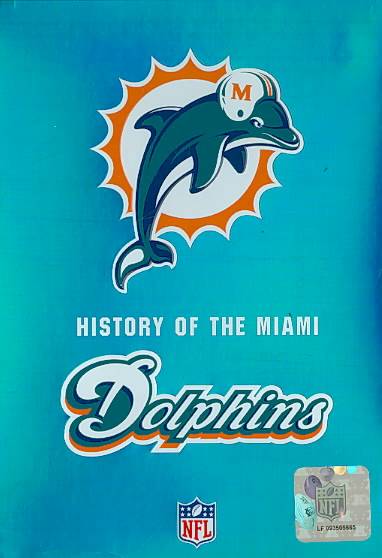 NFL HISTORY OF THE MIAMI DOLPHINS (DVD)